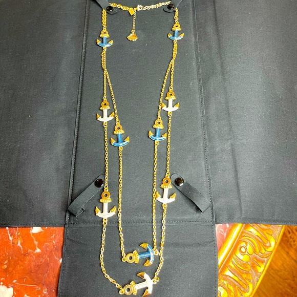 Lilly Pullitzer Marine theme necklace